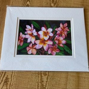 🎉HP🎉 Pink Plumeria Artwork
